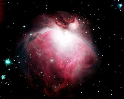 Hur du visar Orionnebulosan med kikare