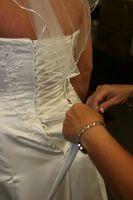 19-talet brudklänningar
