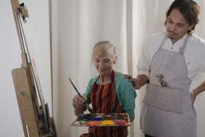 Hur man målar en konstverk