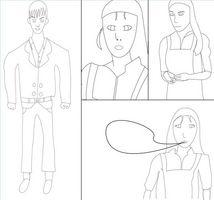 Hur man tecknar Manga på en dator