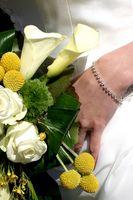 Tips på brudbukett bevarande
