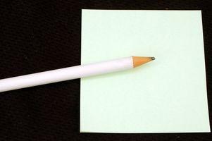 Hur man skriver en komma väl snart kort