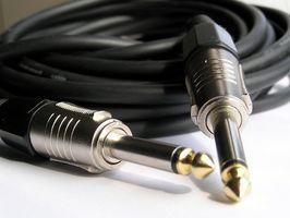 Hur man Välj elgitarr kablar