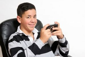 Handheld Pacman spel