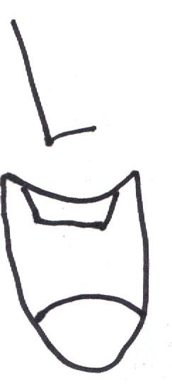 Hur man tecknar Anime läppar