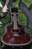 Hur man installerar en Split nitar gitarr fall