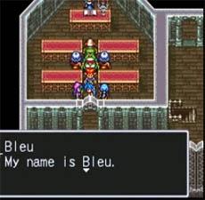Hur du kan skaffa den hemliga karaktär Bleu i Breath of Fire 2