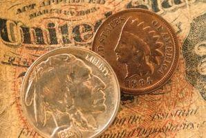Hur man identifierar ett mynt från 1894