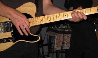 Rekommenderade elgitarrer för countrymusik