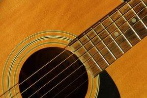Att sjunga i samklang med en gitarr