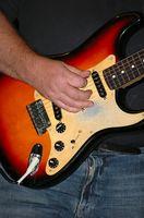 Topp 5 elektrisk gitarr för nybörjare