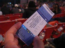 Hur berätta om konsertbiljetter är verkliga