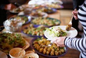 Hur man beräknar hur mycket mat till Fix för 350 personer