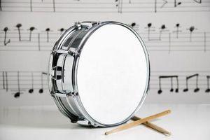 Hur man skriver trumma diagram för inspelning