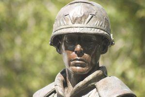 Hur gör jag hitta förlorat familj i Marine Corps?