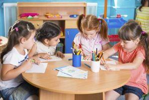 Typer av läroplanen barnomsorg Centers användning