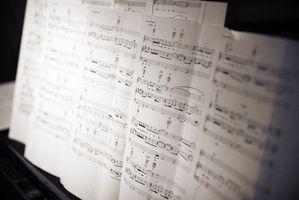 Lista över karriärer som involverar musik sammansättning