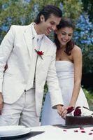 Rolig brudgummens tårta idéer