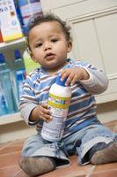 Hur du Baby bevis köksluckor