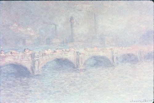 Hur man identifierar målningar av Monet