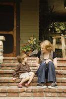 Hur man ber om förlåtelse från dina barn